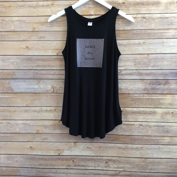 c02843a601fb6c Old Navy Graphic High Neck Swing Tank Size XS NWT